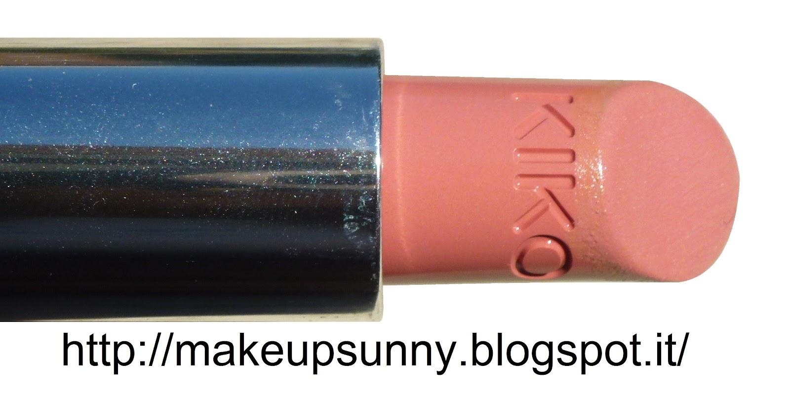 Eccezionale Kiko Luscious Cream Lipstick: Swatches e review dei rossetti  CH05