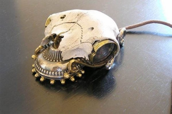 Unusual computer mouse