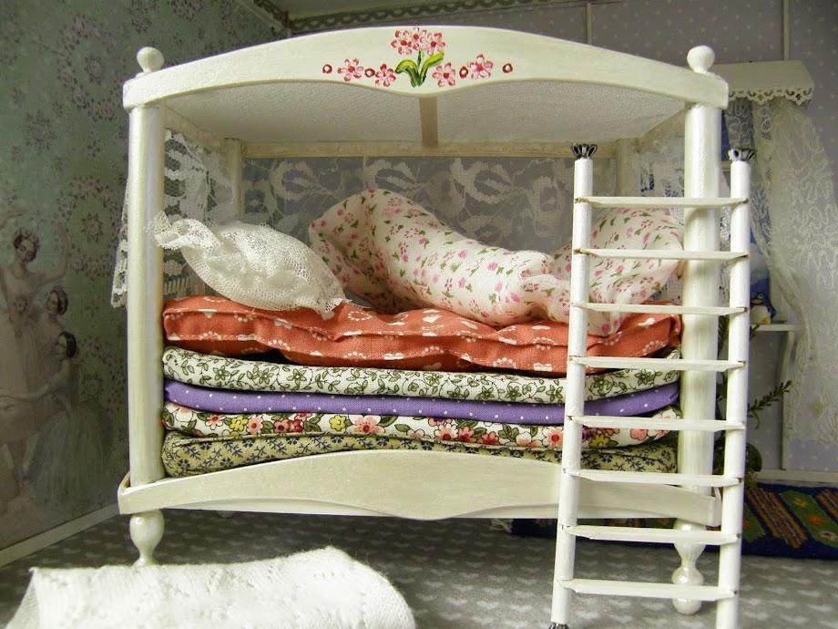 Prinsessan på ärten säng