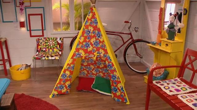 Como fazer uma barraca de tecido para as crianças