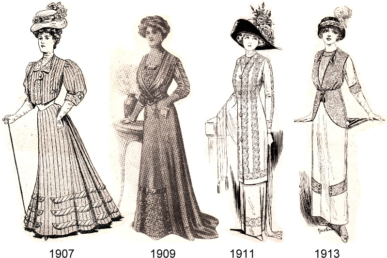 Fashion changes in the 20th century 41