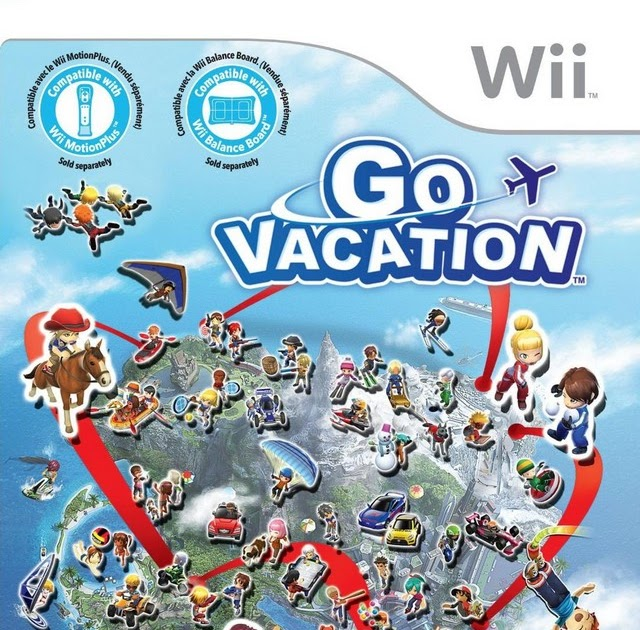 Go Travel Vacations: SuperPhillip Central: Go Vacation (Wii) Review