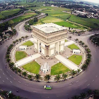 Simpang Lima Monument Top View