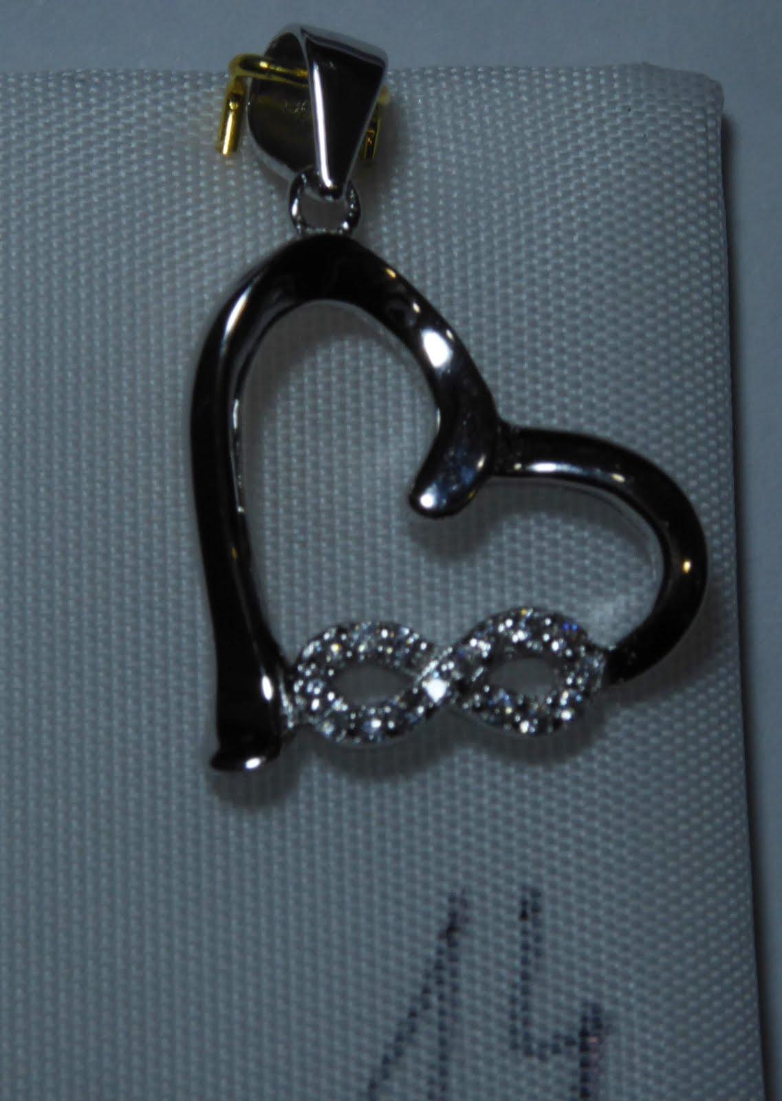 Corazón con el símbolo del Infinito