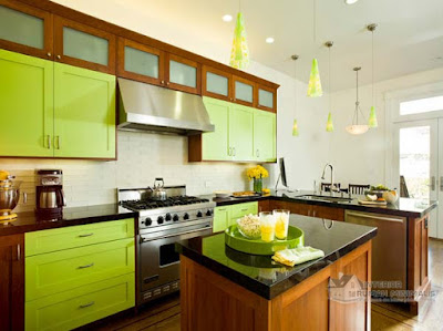 Small Kitchen design, kitchen design, Color For Small Kitchen