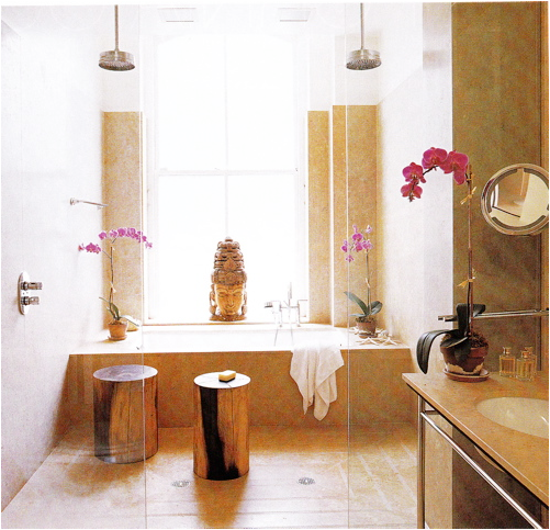 Baño Japones Moderno:Zen Bathroom Decorating Ideas