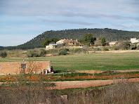 Cal Sanador vista des de Cal Guardabosc