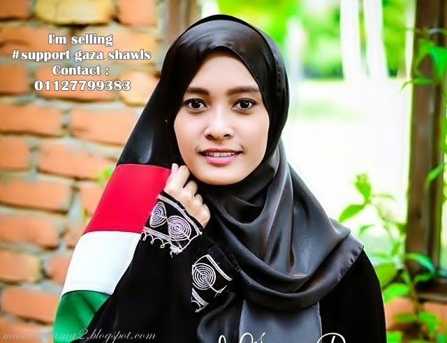 Selling # Support Gaza Shawls