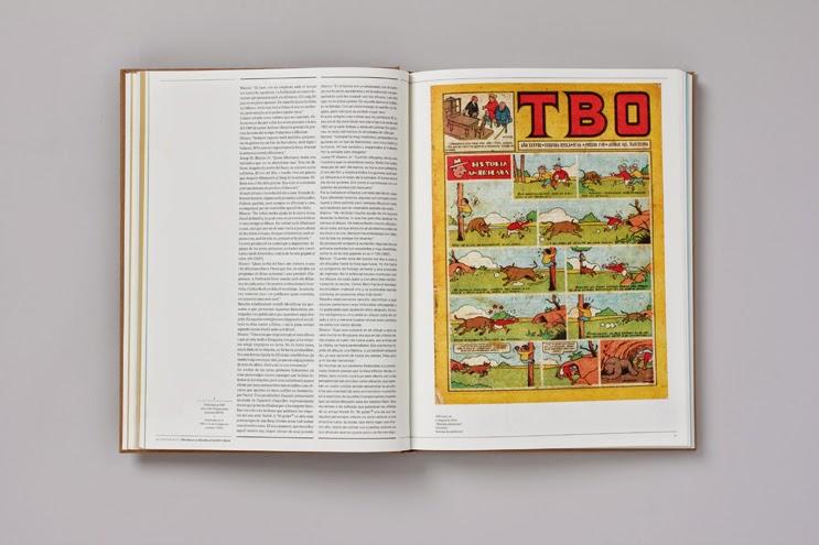 Catálogo de Blanco en el Casal Solleric, ajuntament de Palma comic