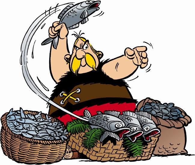 La Razorine, pour se préparer au coupe-chou ? Asterix+poisson+01