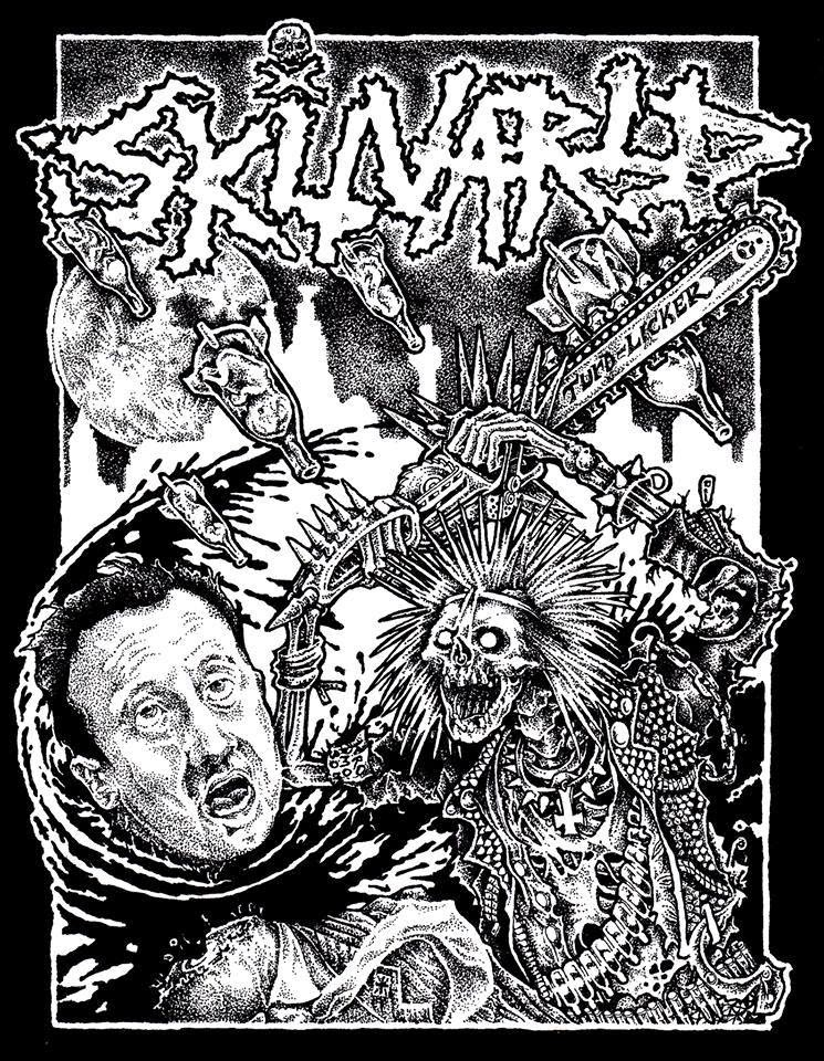 "My New Band ""Skitvärld"" Raging D Beat/Noisepunk From Liverpool!!"