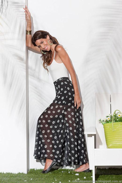Maxifaldas de moda verano 2015 Normandie.