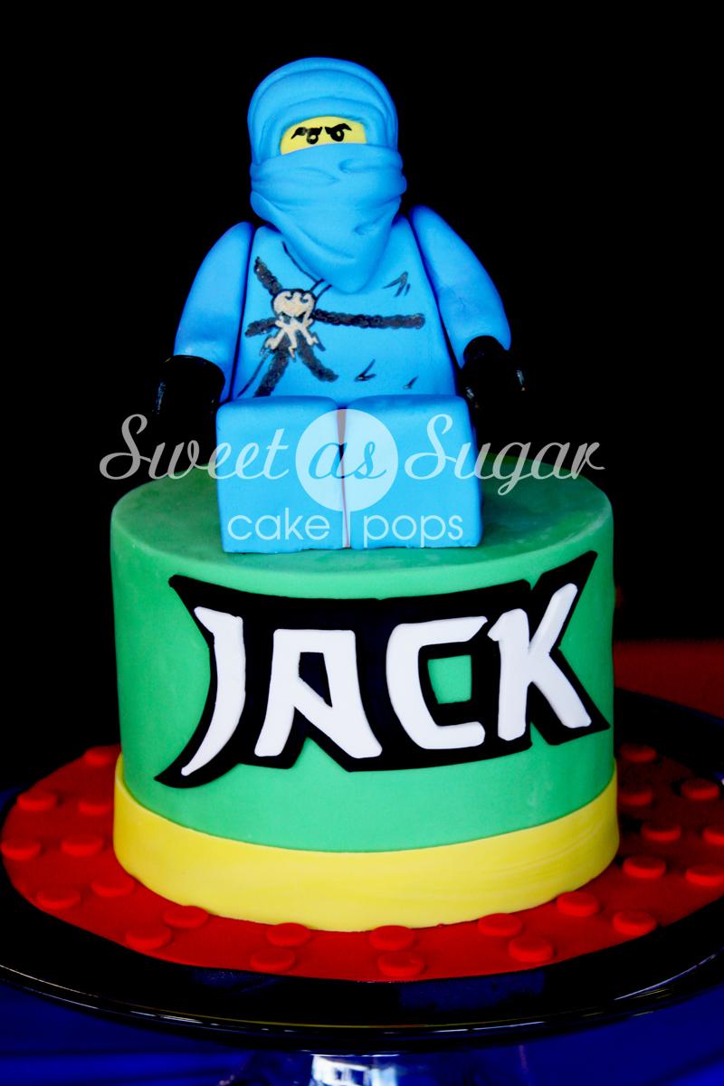 Ninjago Cake And Pops