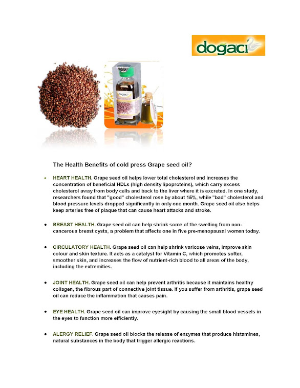 Dogaci Grape Seeds Oil