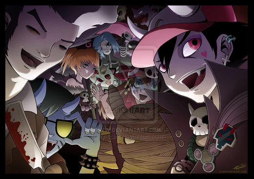 Pokemon Halloween Special por Ry-Spirit
