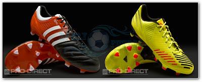 Adidas presenta su linea de Guayos 2012-2013