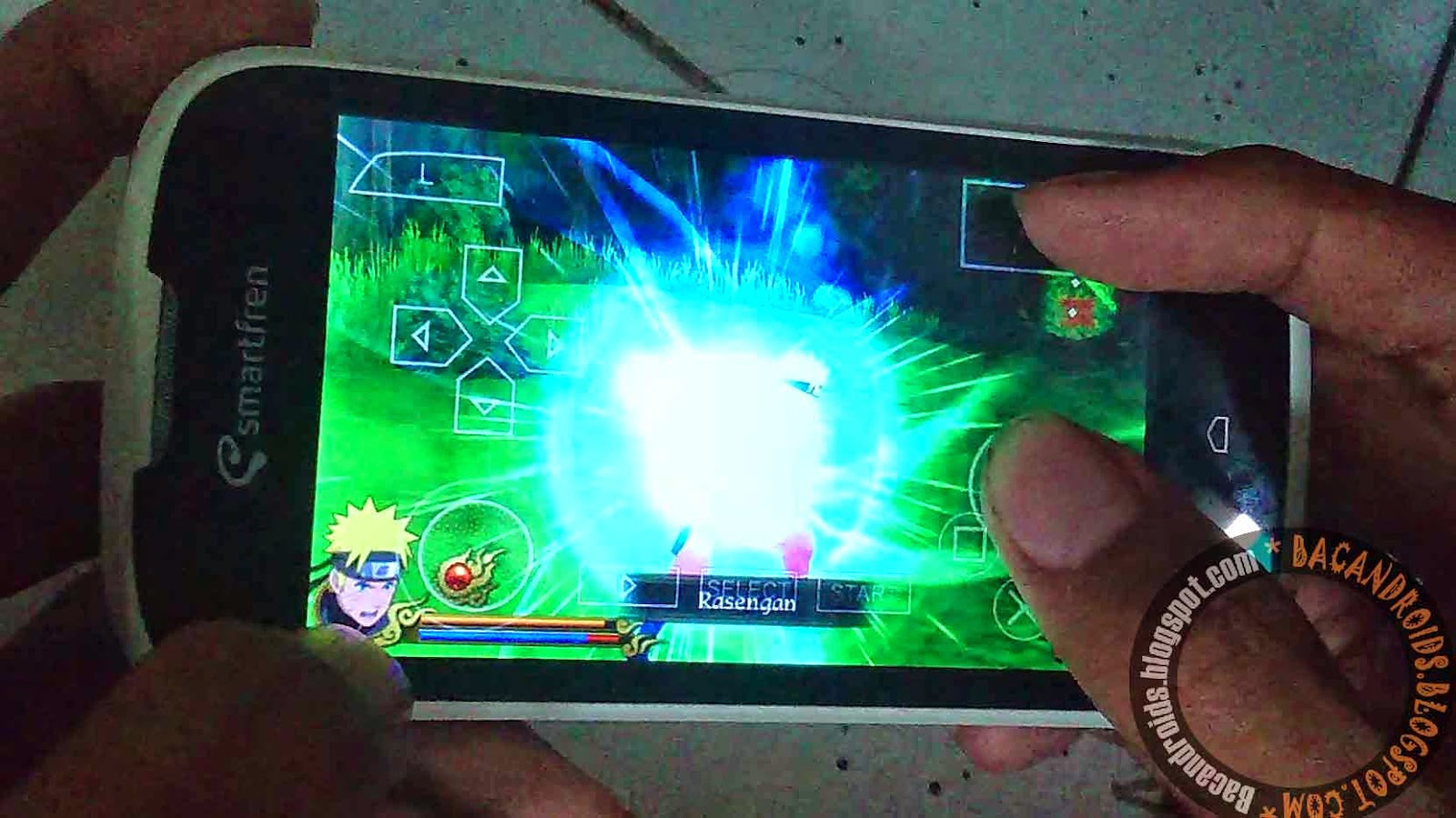 PSP Game Naruto ISO Highcompress