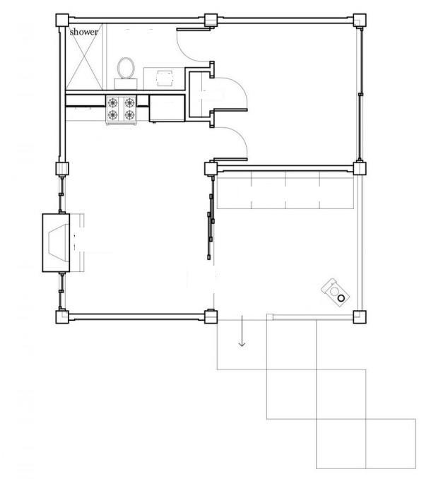 Planos de casas modelos y dise os de casas planos de casas de campo peque as - Planos de casas pequenas de campo ...