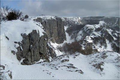 Impresionante vista del Barranco de Arnaba