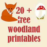 picture regarding Printable Woodland Animals referred to as ☞ 20+ no cost woodland printables - Waldtiere Druckvorlagen