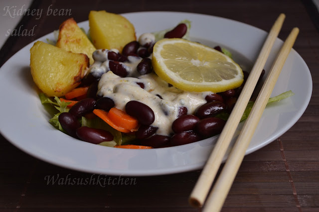 Kidney Bean Salad by Wahsushkitchen
