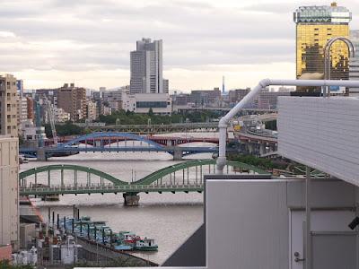Sumida River in Tokyo