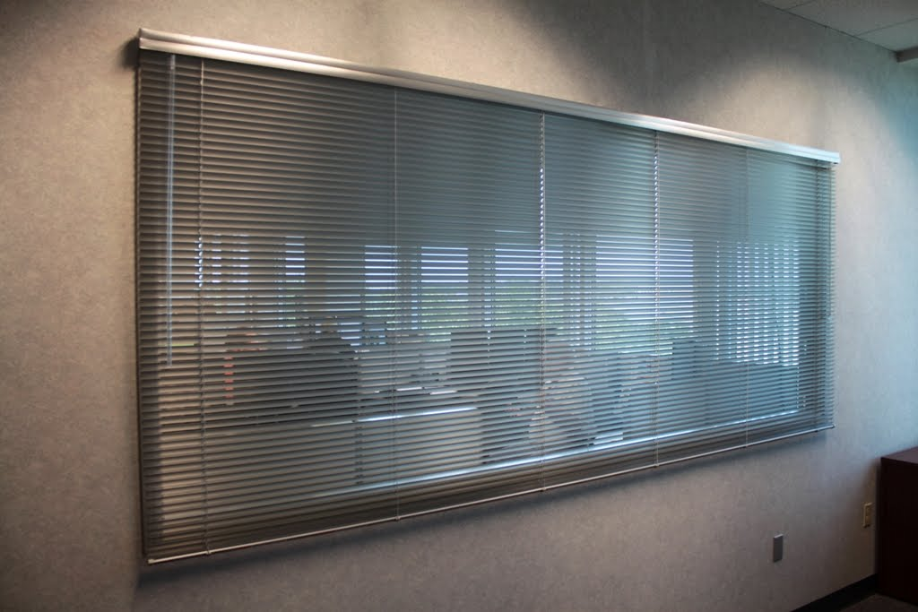 Trinity Uptown Window Coverings Custom Aluminum Blinds