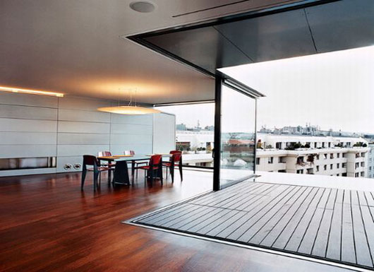 Modern Penthouse : Cool Fresh Luxury and Modern Penthouse Apartment in Vienna