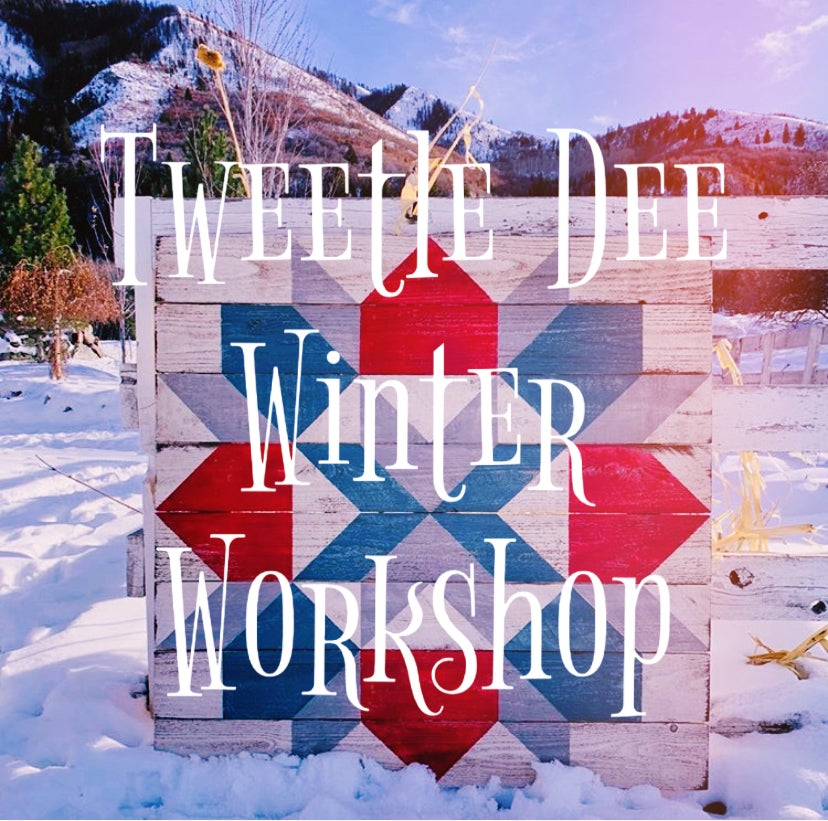 Winter Workshop Registrations