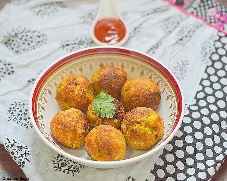 potato bread balls