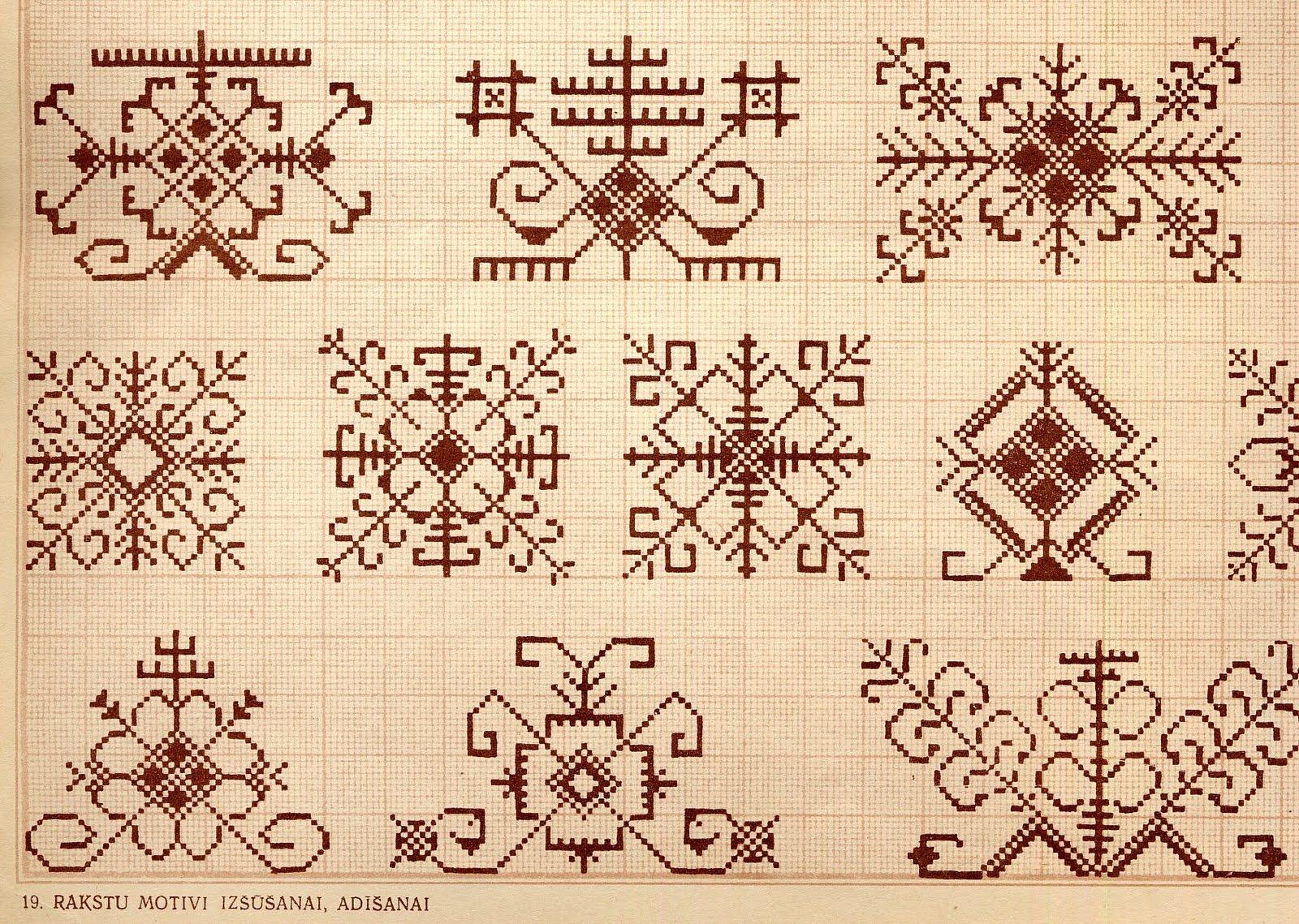folkcostume embroidery designs by ventaskrasts latvia. Black Bedroom Furniture Sets. Home Design Ideas