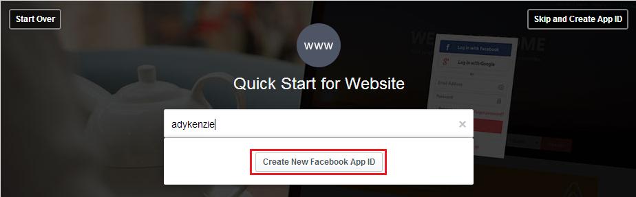 Cara Membuat Aplikasi Facebook Dalam 5 Menit