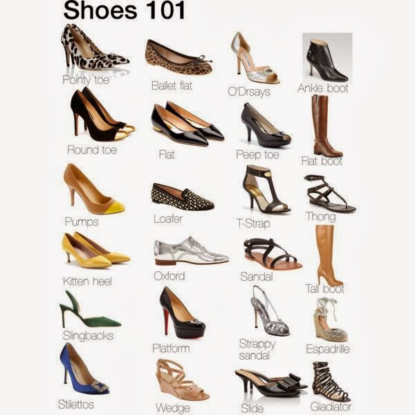 As Many Of You Know I Love Shoes And It Took Me Years To Understand What  All Of The Different Styles Of Shoes Are And Which Ones Flattered You The  ...