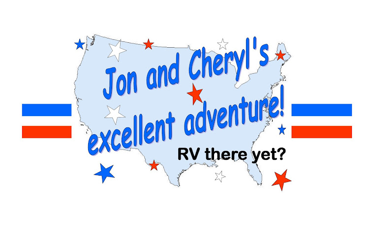 Jon and Cheryl's excellent adventure!