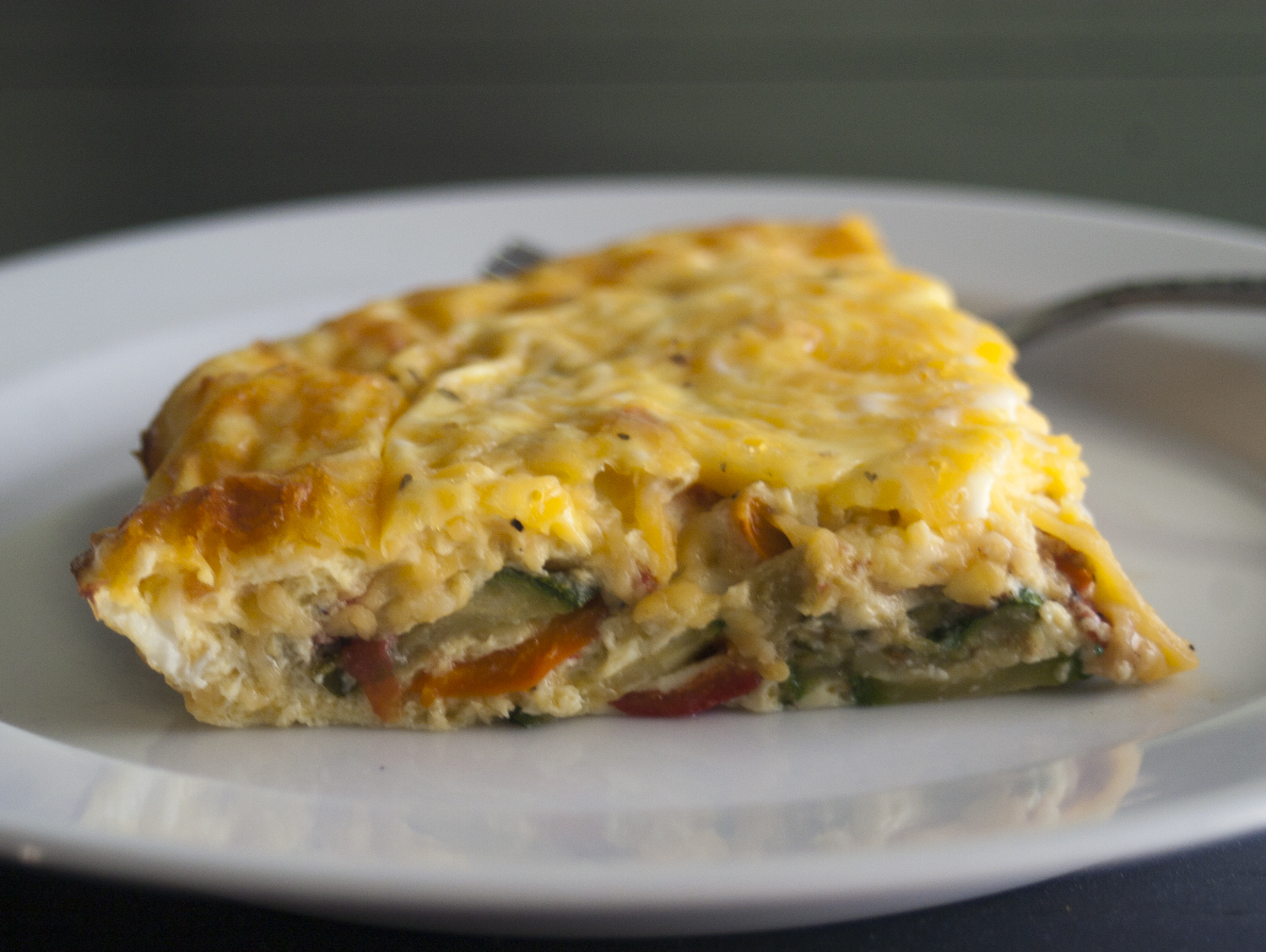 Are you hungry?: Crustless Fresh Zucchini Quiche