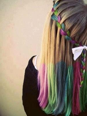 Tu pelo Tu look : Peinados 2014 look: colores de pelo vibrantes