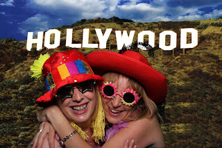 images from a photobooth hire