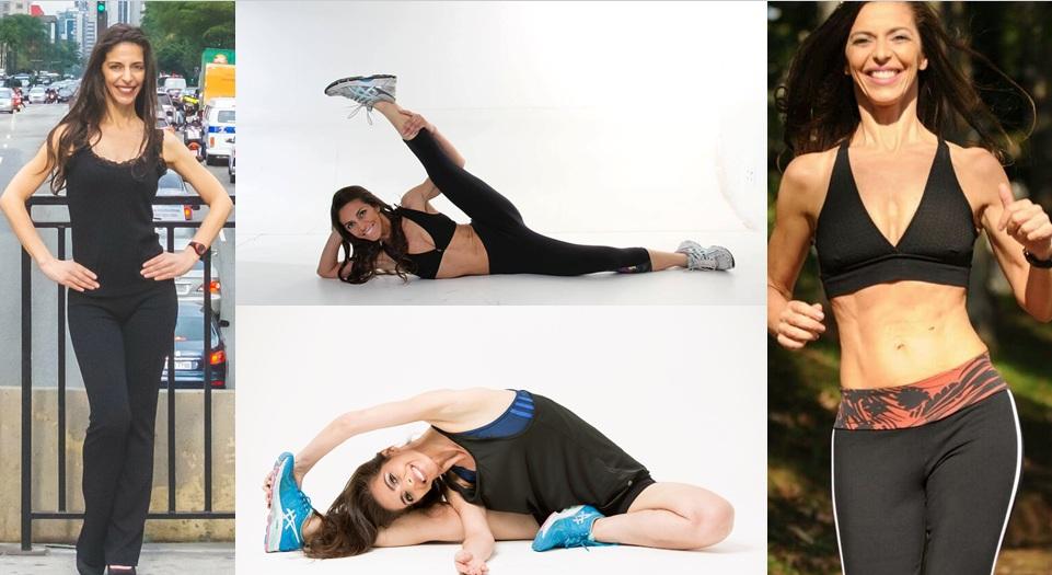 Modelo que também é Persnal Trainer mostra que está em plena forma aos 50 anos