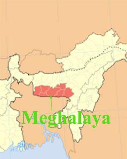 Gk questions Meghalaya