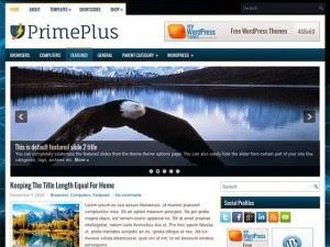 PrimePlus - Free Wordpress Theme