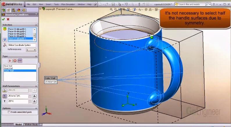 SolidWorks Flow Simulation - Transient Natural Convection ...