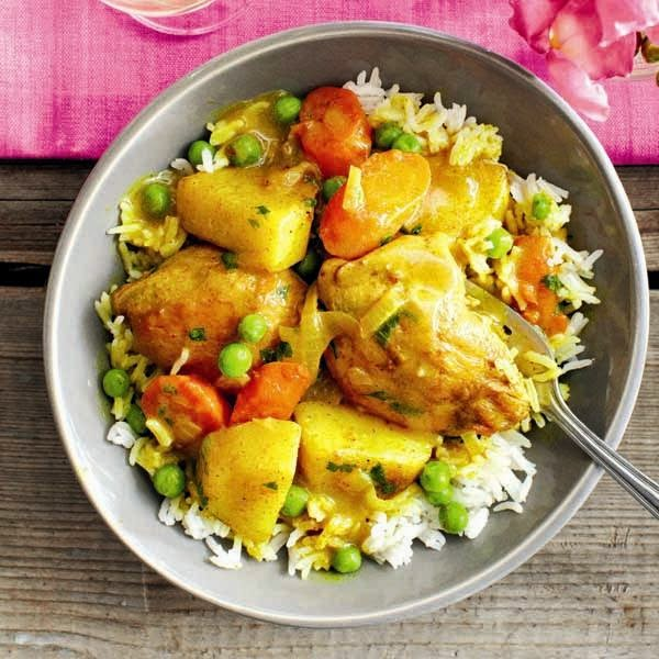 fruit chicken curry recipe