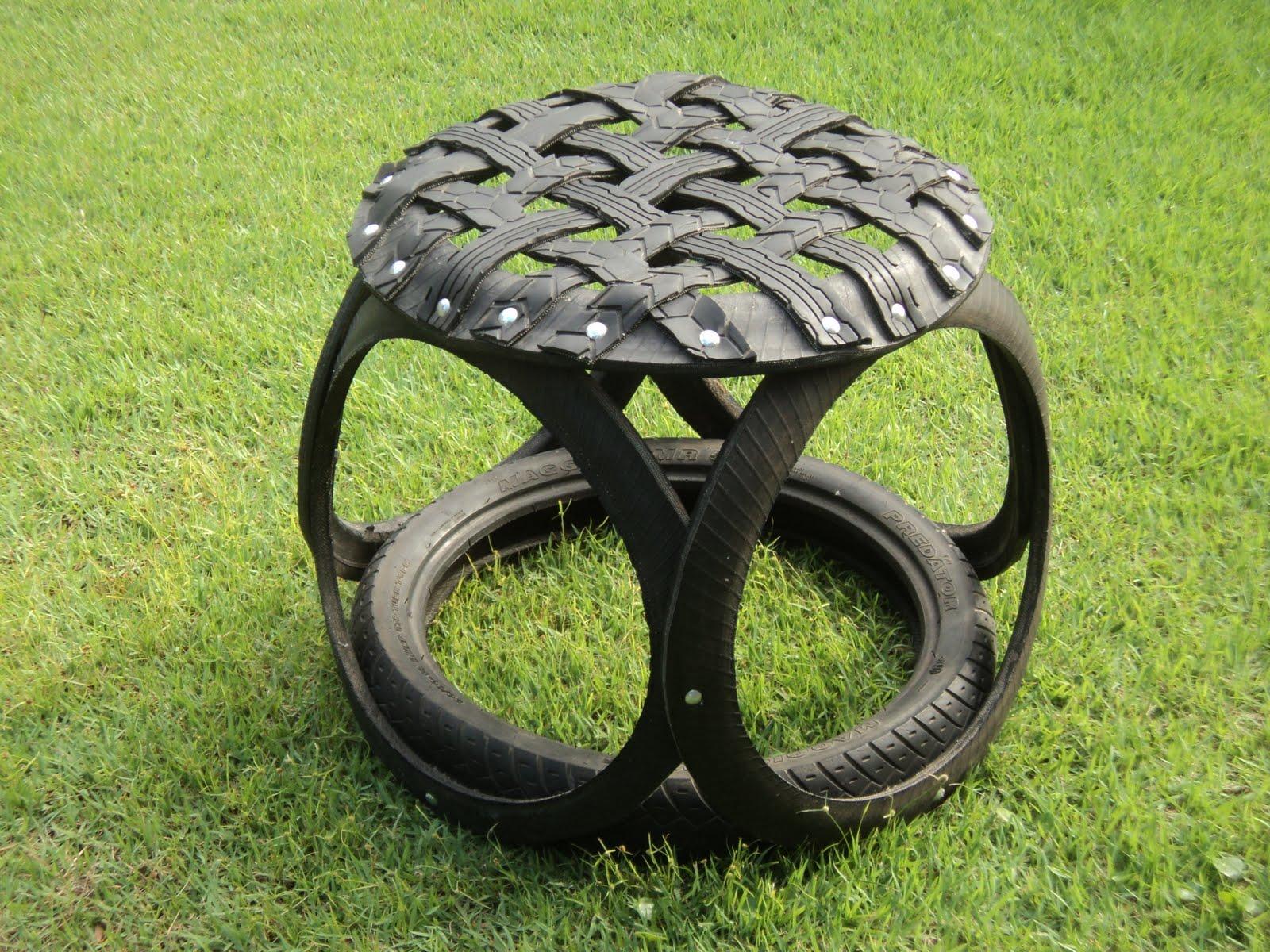 Aparador Westwing ~ Arte de pneus