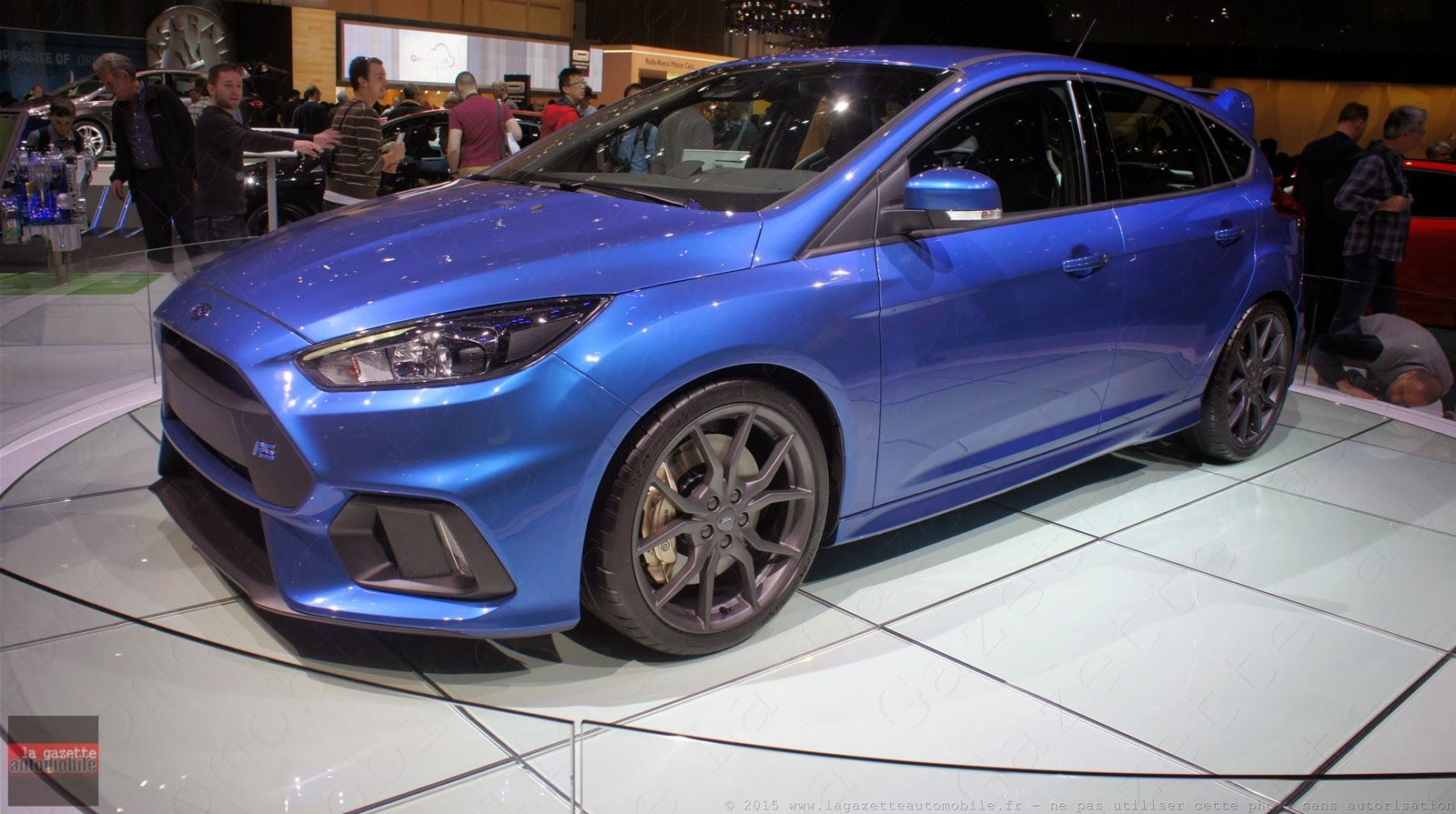 Genève 2015 Ford Focus III RS