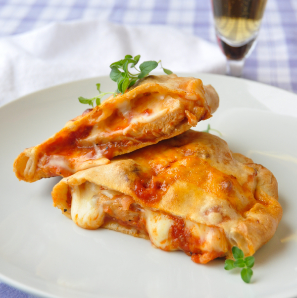 Barbecue Chicken Calzone