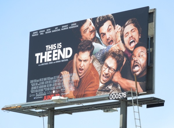 This Is The End movie billboard
