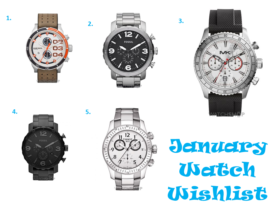 shoutjohn january watch wishlist
