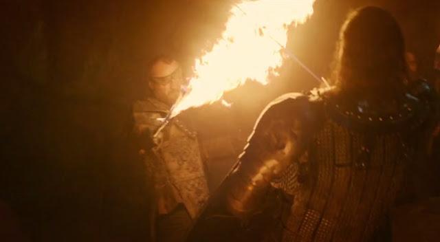 lucha beric dondarrion y el perro sandor - Juego de Tronos en los siete reinos