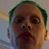 Jared Leto mostra seu cabelo verde para o Coringa no Snapchat
