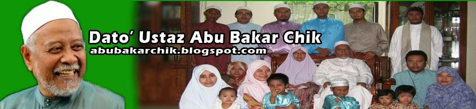 Dato' Ustaz Haji Abu Bakar Chik